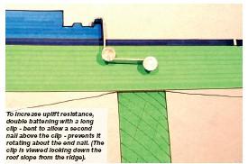 Interlocking Roof Tile Clips 2